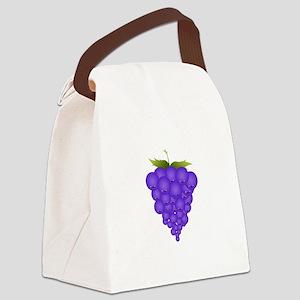 Buncha Grapes Canvas Lunch Bag