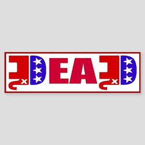 GOP Dead! Sticker (Bumper)
