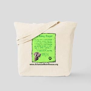 Ponsy Prayer Tote Bag