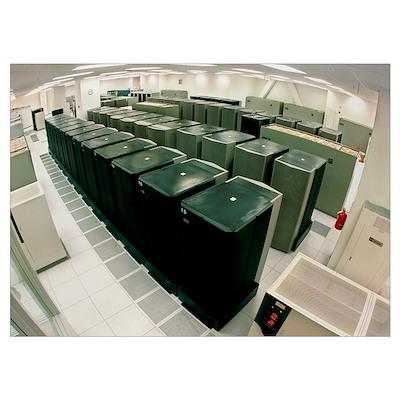 IBM supercomputers Poster