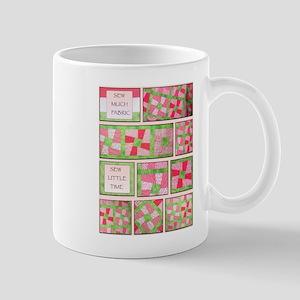 Maxines Quilt Pink 2 Mug