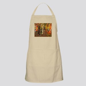 Funky Forest Tree Art Apron