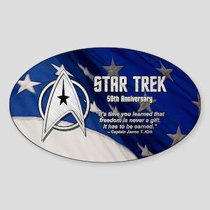 KIRK FREEDOM EARNED Sticker (Oval)