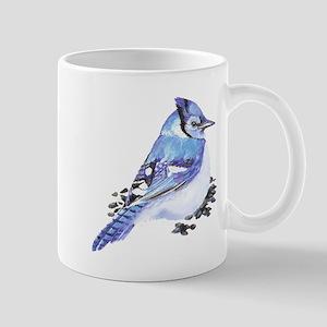Original Watercolor Blue Jay Mug