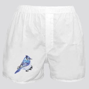 Original Watercolor Blue Jay Boxer Shorts
