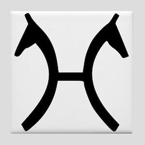 Hanoverian Verband Tile Coaster