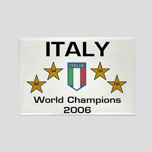 Italy World Champions Rectangle Magnet