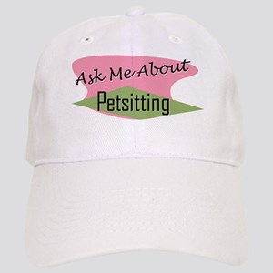 Ask Me About Pet Sitting Cap
