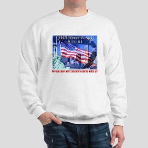 9-11 Tribute & Warning Sweatshirt