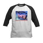 9-11 Tribute & Warning Kids Baseball Jersey