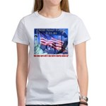 9-11 Tribute & Warning Women's T-Shirt