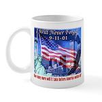 9-11 Tribute & Warning Mug