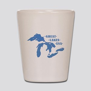 GREAT LAKES USA Shot Glass