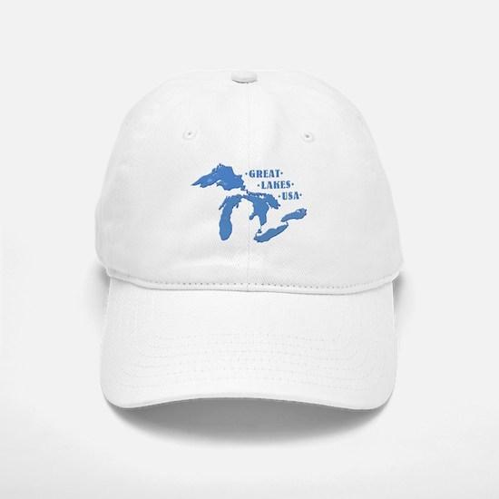 GREAT LAKES USA Baseball Baseball Cap