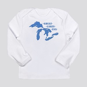 GREAT LAKES USA Long Sleeve Infant T-Shirt