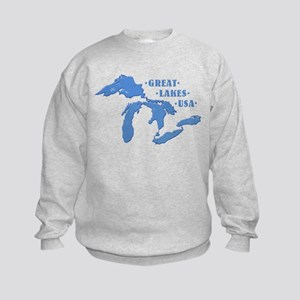 GREAT LAKES USA Kids Sweatshirt