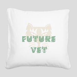 FutureVet Square Canvas Pillow