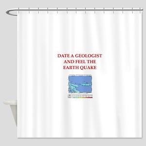 GEOLOGIST5 Shower Curtain