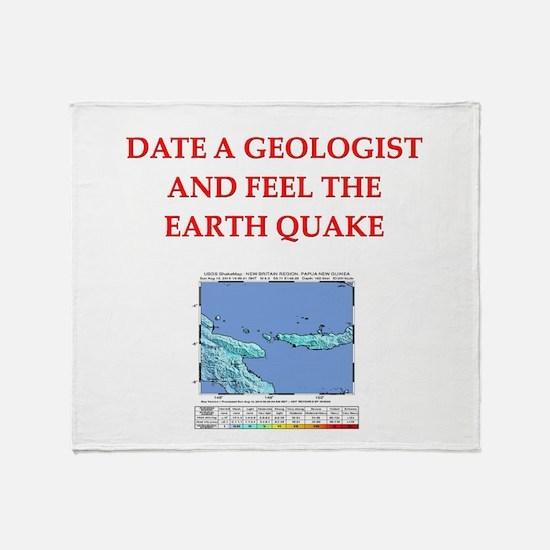 GEOLOGIST5.png Throw Blanket