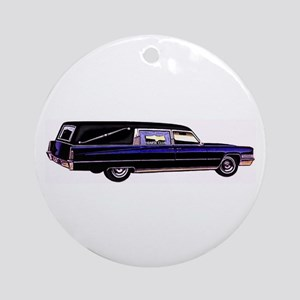 The Hearse  Ornament (Round)