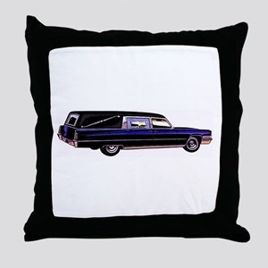 The Hearse  Throw Pillow
