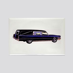 The Hearse Rectangle Magnet