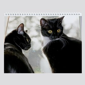 Kitties-Sisters Wall Calendar 2