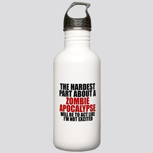 Exciting zombie apocalypse Stainless Water Bottle