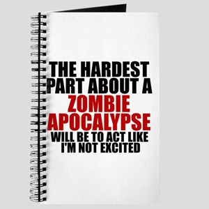 Exciting zombie apocalypse Journal