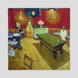 Van Gogh Night Cafe Queen Duvet