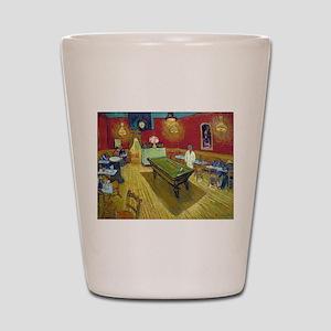 Van Gogh Night Cafe Shot Glass