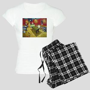 Van Gogh Night Cafe Women's Light Pajamas