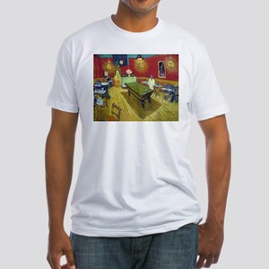 Van Gogh Night Cafe Fitted T-Shirt