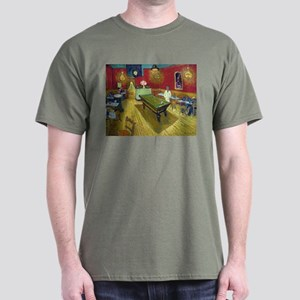 Van Gogh Night Cafe Dark T-Shirt