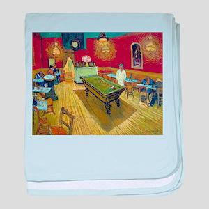 Van Gogh Night Cafe baby blanket