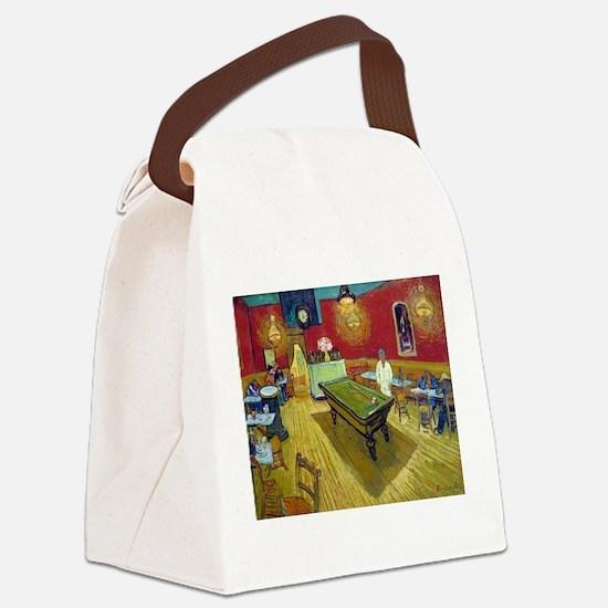 Van Gogh Night Cafe Canvas Lunch Bag
