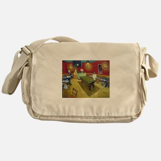 Van Gogh Night Cafe Messenger Bag