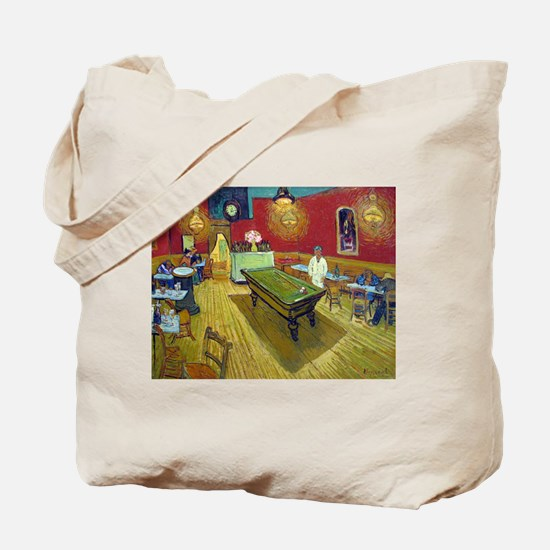 Van Gogh Night Cafe Tote Bag