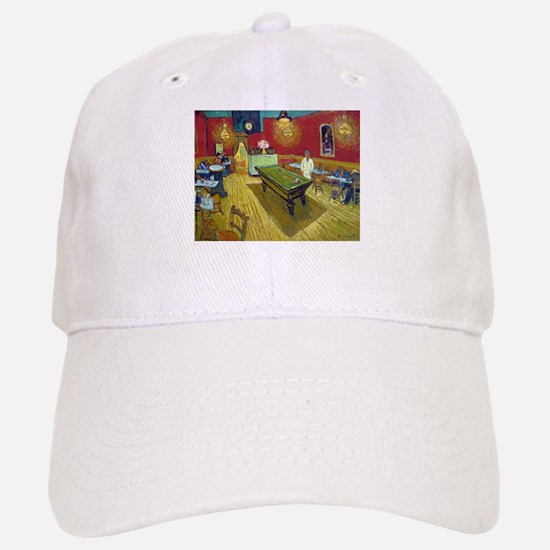 Van Gogh Night Cafe Baseball Baseball Cap