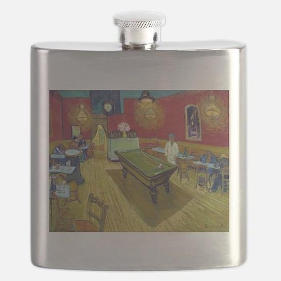 Van Gogh Night Cafe Flask