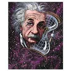 Albert Einstein, German physicist Canvas Art