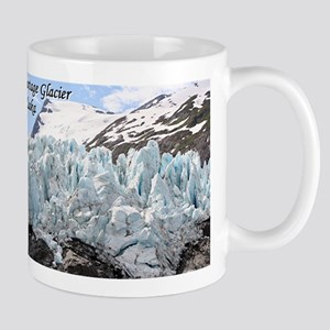 Portage Glacier, Alaska (with caption) Mug