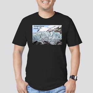 Portage Glacier, Alaska (with caption) Men's Fitte