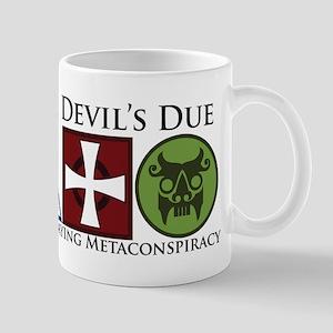 DD Back White Mugs