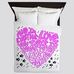 Love You Make Queen Duvet