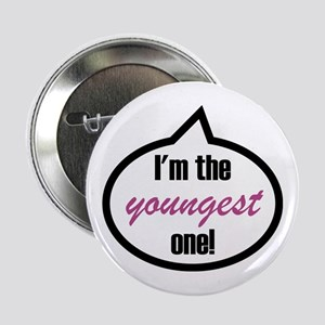 "Im_the_youngest 2.25"" Button"