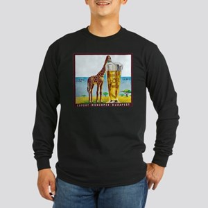 Hungary Beer Label 11 Long Sleeve Dark T-Shirt