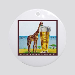 Hungary Beer Label 11 Ornament (Round)