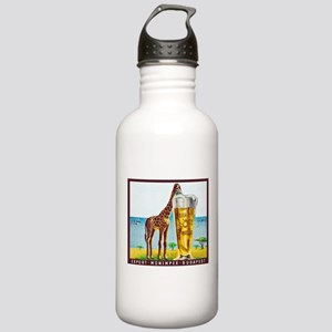Hungary Beer Label 11 Stainless Water Bottle 1.0L