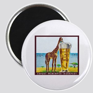 Hungary Beer Label 11 Magnet